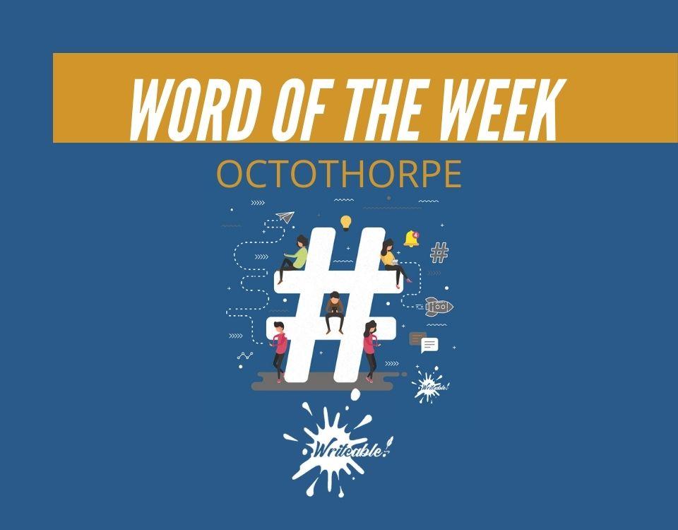 Word of the Week: Octothorpe