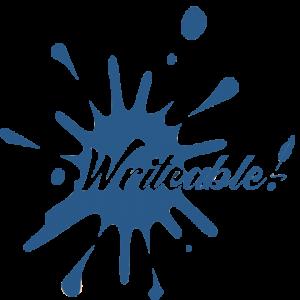 Writeable logo