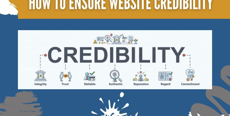 website credibility