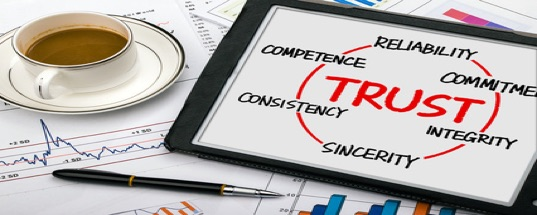 website credibility trust